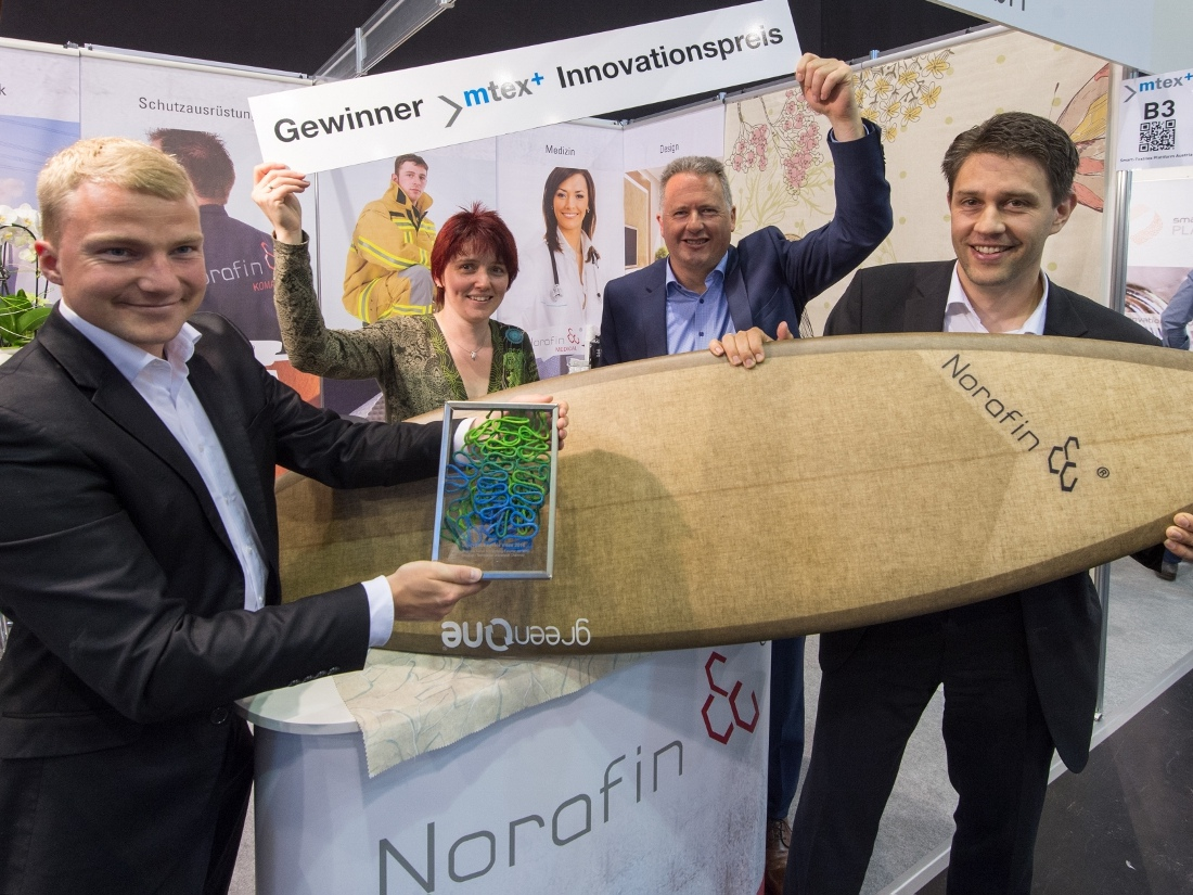 mtex+ 2016 Innovationspreis Norafin